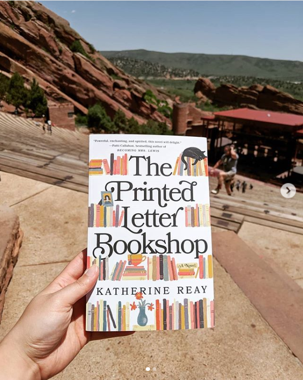 book at Red Rocks amphitheatre in Colorado