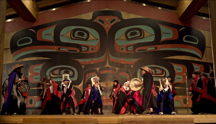 TLINGIT DANCE ON CAMERA (in process)