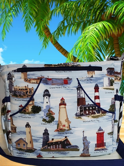 Lighthouse Purse (made in the USA by the Chesapeake Bay)