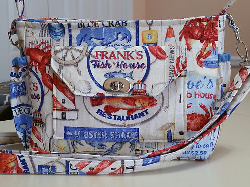 Crab House Purse (made in the USA by the Chesapeake Bay)