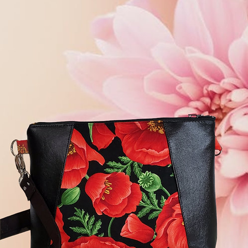 Red Poppies Purse