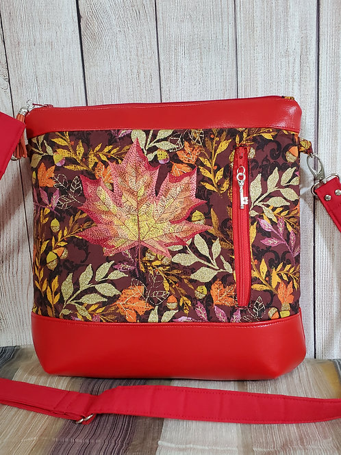 Golden Leaves Purse