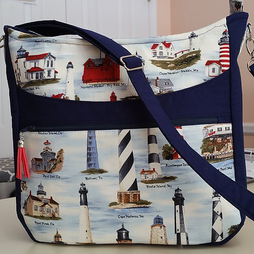Lighthouse Nautical Purse