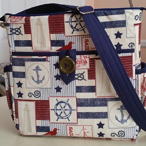 Go Everywhere Nautical Purse