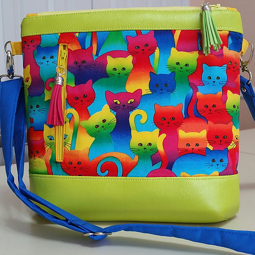 Colorful Cats Purse