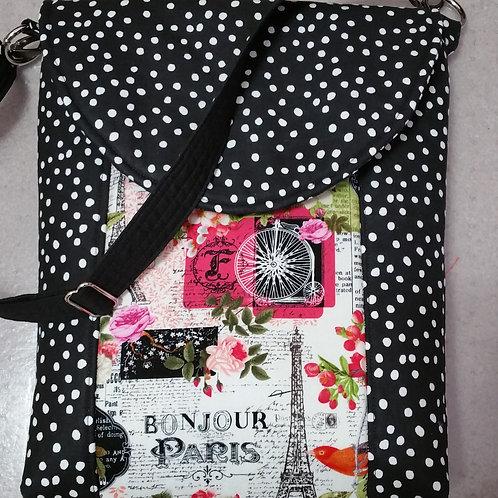 Paris and Dots Purse