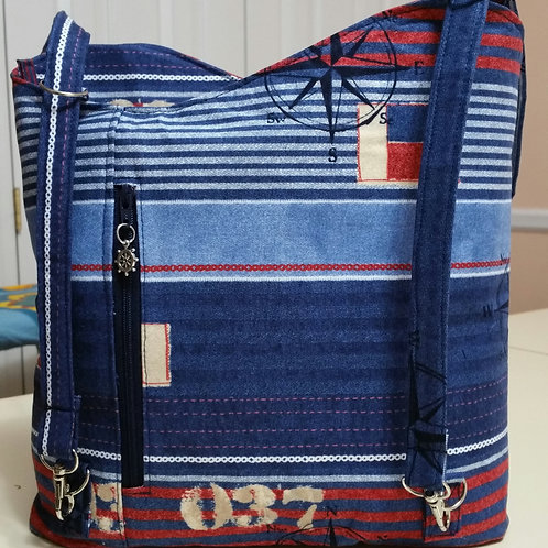 Nautical Hand and Back Pack