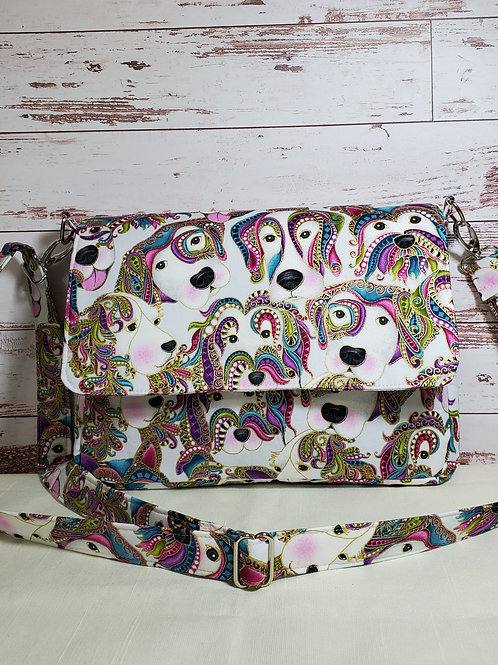 Paisley Dog Purse