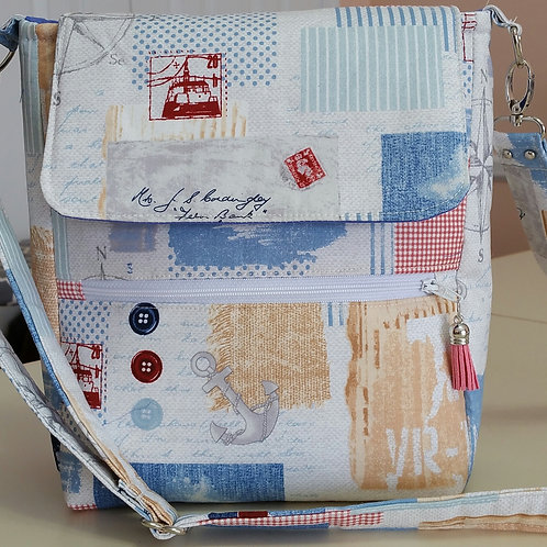 Bright Nautical Motif Purse