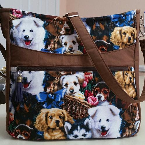 Puppies Shoulder Bag