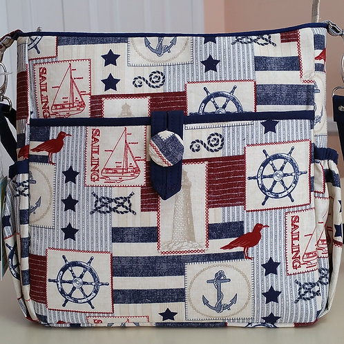 Go Everywhere Nautical Purse