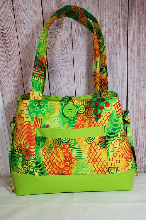Summer Purse/Tote (made in the USA by the Chesapeake Bay)