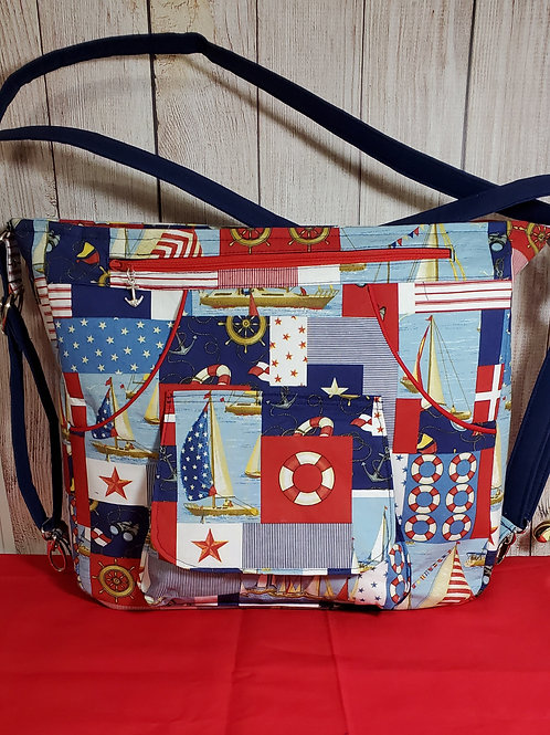 Nautical Fun Purse (made in the USA by the Chesapeake Bay)