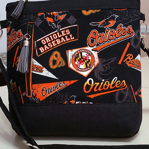 Oriole Baseball Purse