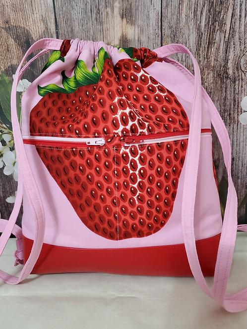 Big Strawberry Bag/Backpack