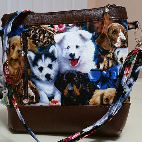 Lots of Puppies Purse