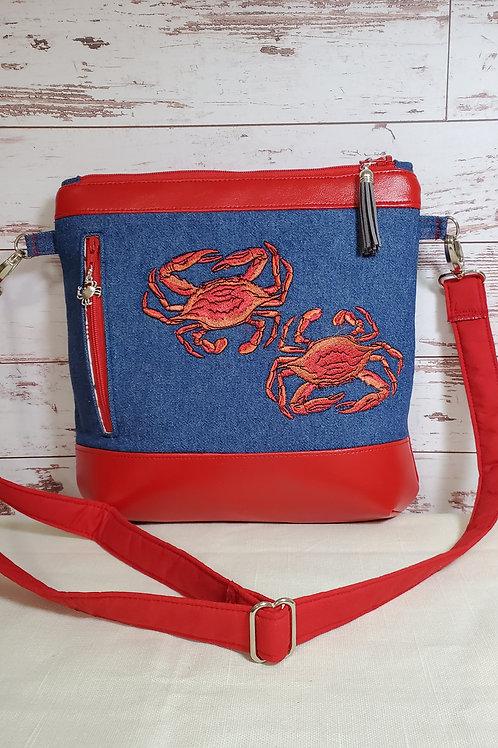 Maryland Blue Crabs Purse