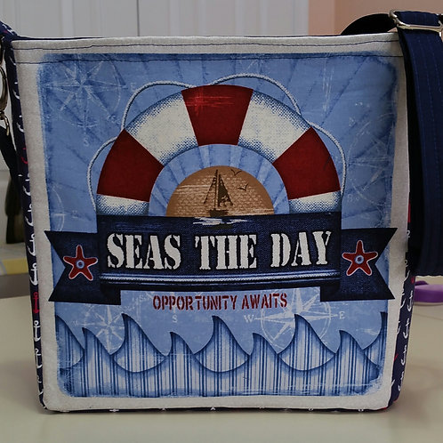 Nautical Panel Purse