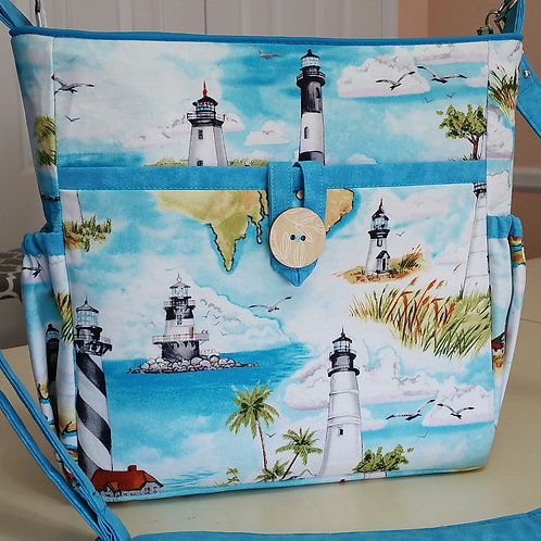 Lighthouse in Turquoise