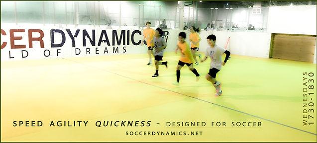 soccerdynamics | SPRINT - Speed and Agility