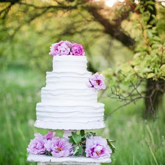 "Wedding Cake Classic Style ""Eva"""