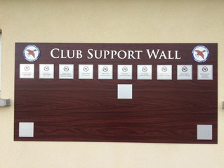 10 spaces left in the Club Support Wall