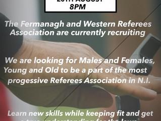 Referees beginner programme