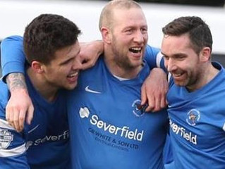 Quartet sign for Ballinamallard