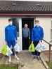 Reserves make support parcel deliveries