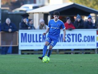 Academy player Britton makes debut