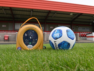 NIFL to supply BUFC with a new Defibrillator