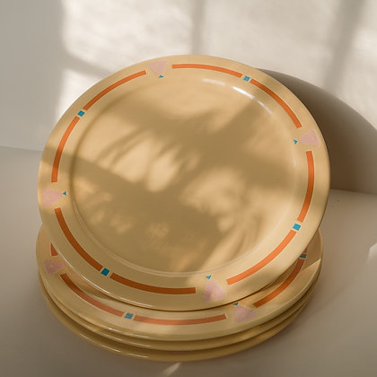 """Colorful 12"""" dinner plates"""