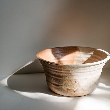 Natural stoneware bowl