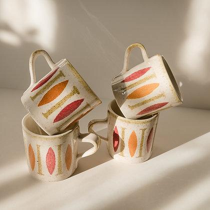 Mid century mugs