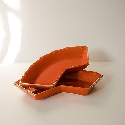 Orange trays