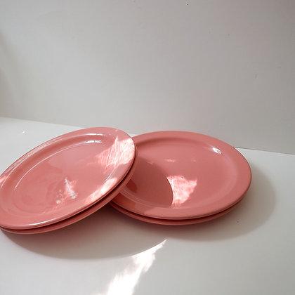 Salmon side plates