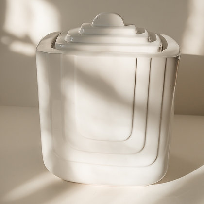 Art Deco canister