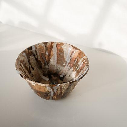Dripped glaze bowl