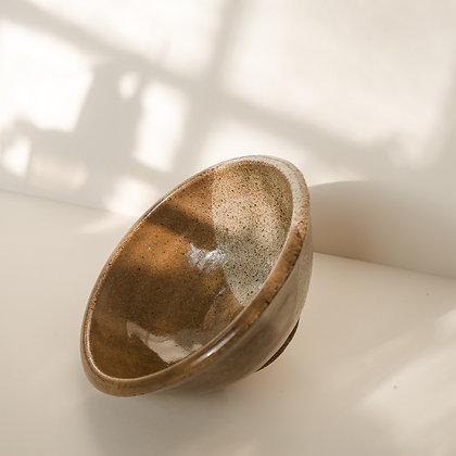 Two-toned stoneware bowl