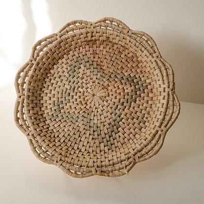 Small woven tray