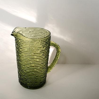 Textured pitcher