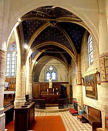 Vauréal_(95),_église_de_l'Assomption_de_