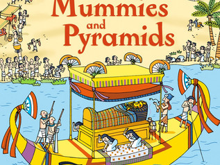 """Book Review by kids - Usborne """"Look inside Mummies and Pyramids"""""""