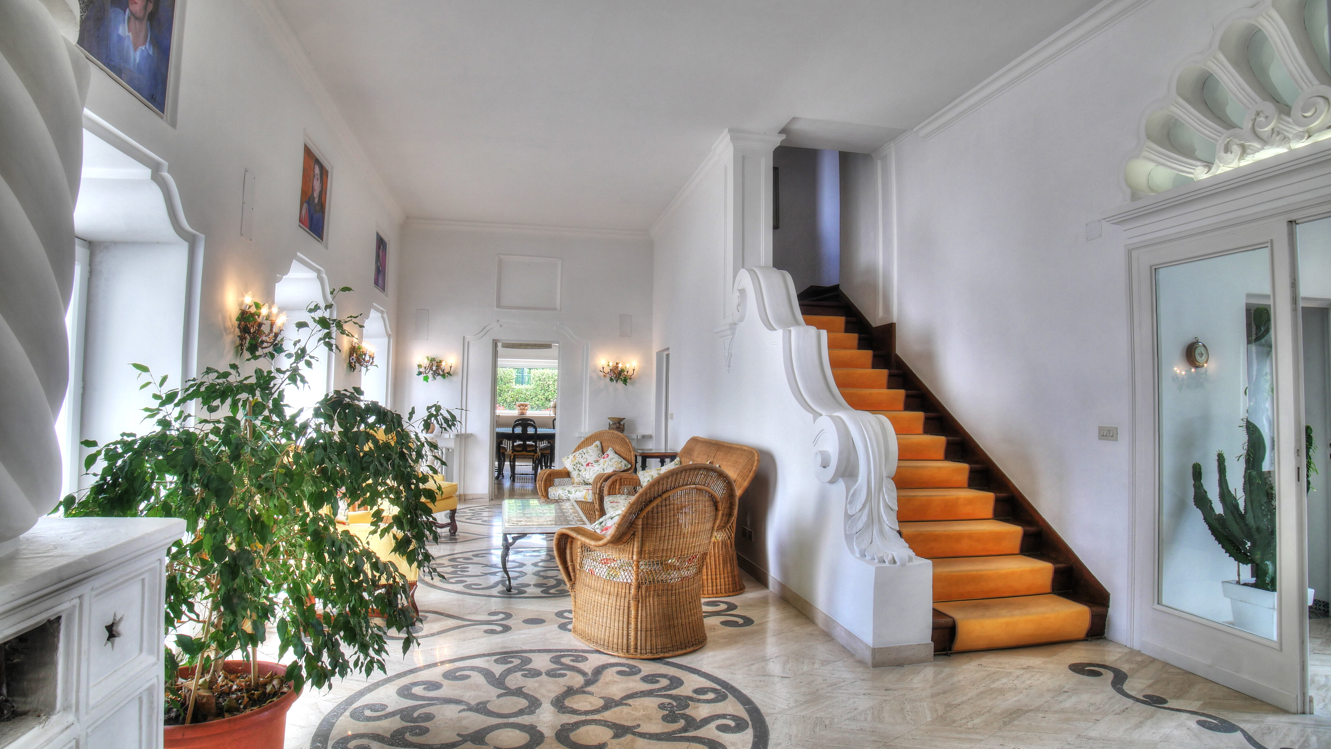 ISLAND OF CAPRI ITALY HIGH END LUXURY STAIRCASE