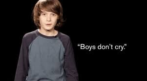"""""""Boys Don't Cry."""" - Do Ads convey this?"""
