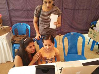 ChildSafeMedia At The Chennai Public School Pongal Mela.