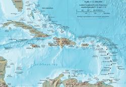 CARIBBEAN MAP USA PROPERTY