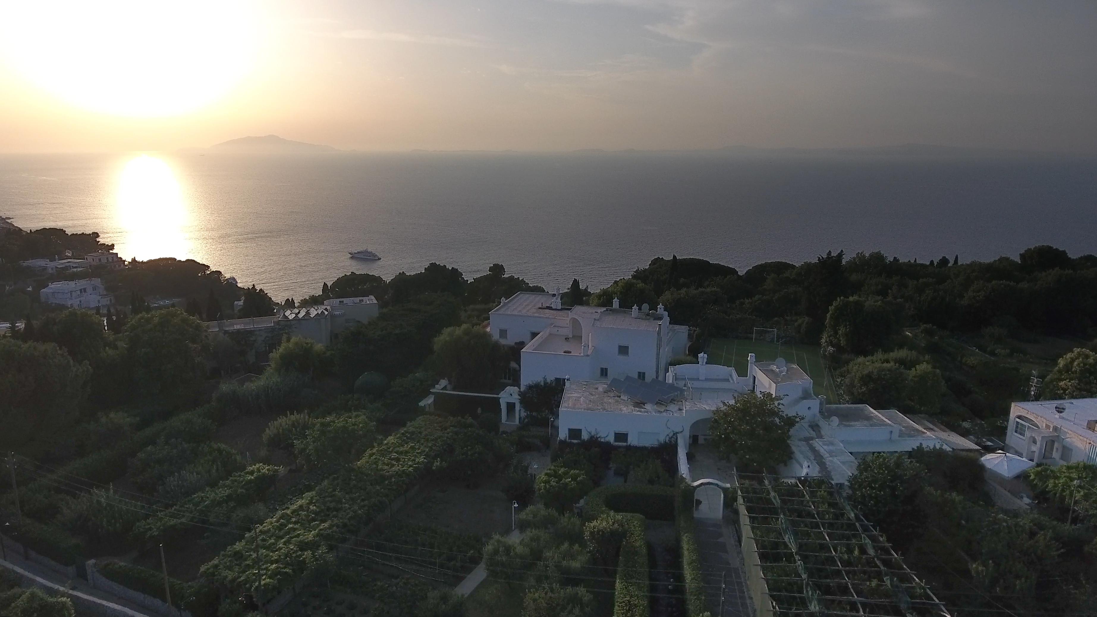 ISLAND OF CAPRI ITALY VILLA SUNSETS