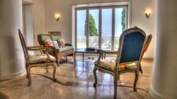 ISLAND OF CAPRI ITALY SITTING ROOM TO PATIO