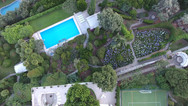 Aerial of Stunning Grounds